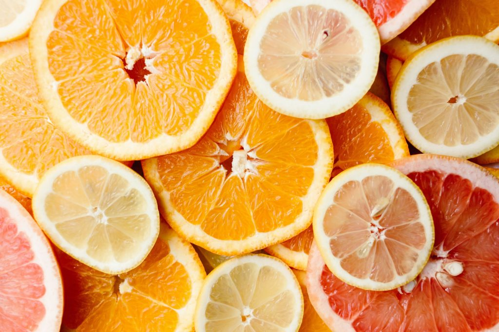 citrus scents are useful for stress reduction