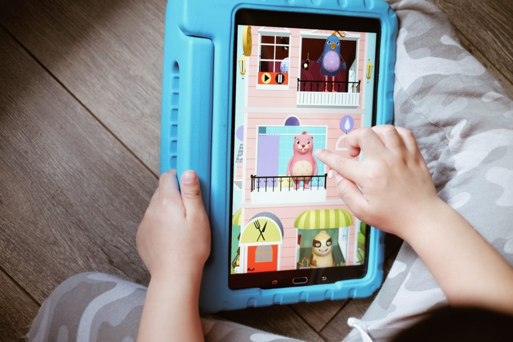 Virtual pet games can be played anywhere via tablets and smartphones.