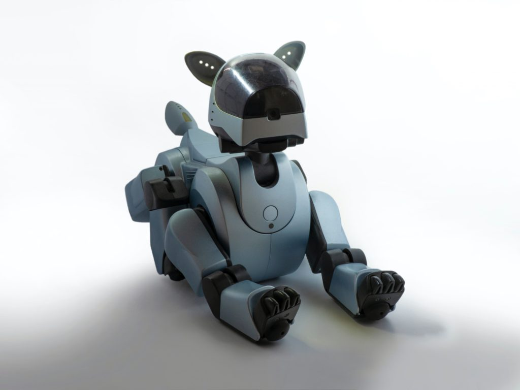 Robot dogs have been available, such as Sony's Aibo.