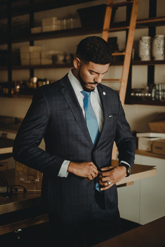Suiting up is not just about the looks, but an aspiration of who you want to be.