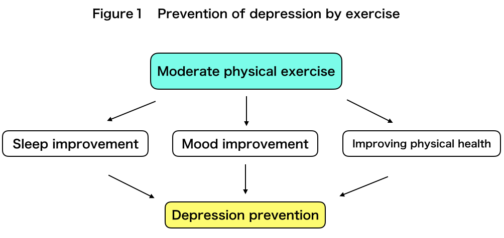 Prevention of depression by exercise