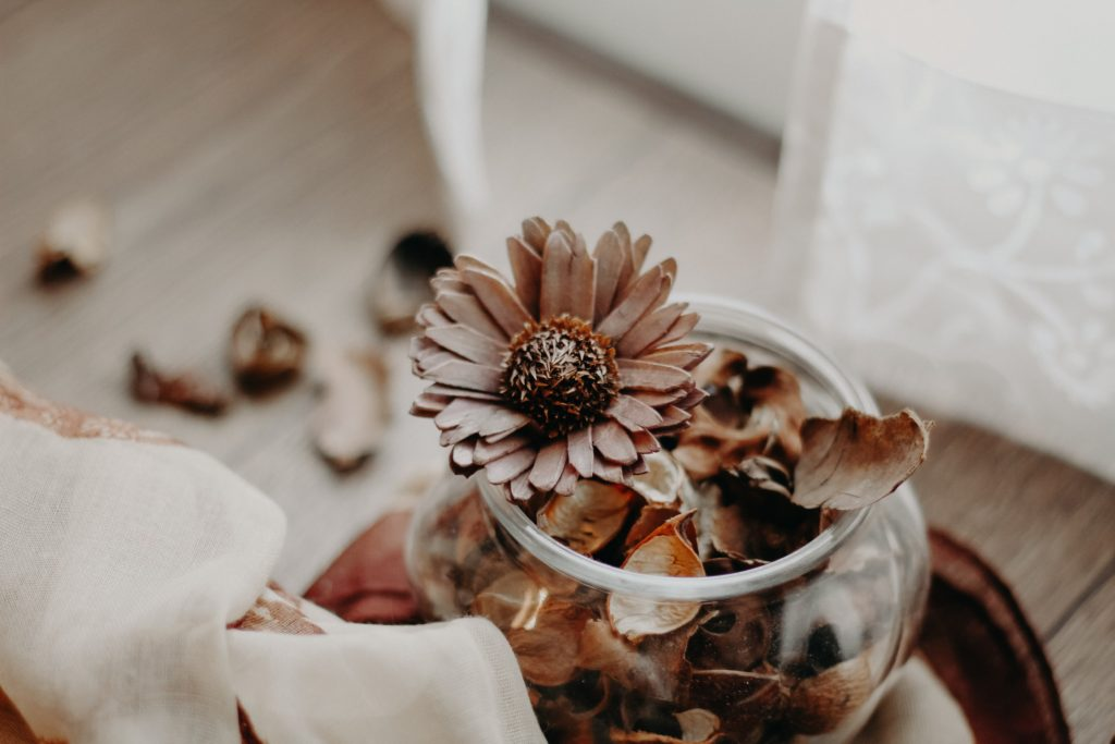 Potpourri is one option for a pleasent smell